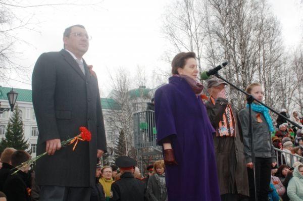 Собравшихся приветствовала губернатор Югры Наталья Комарова.