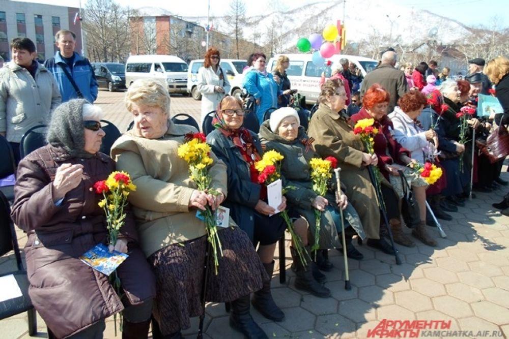 Ветераны Вилючинска.