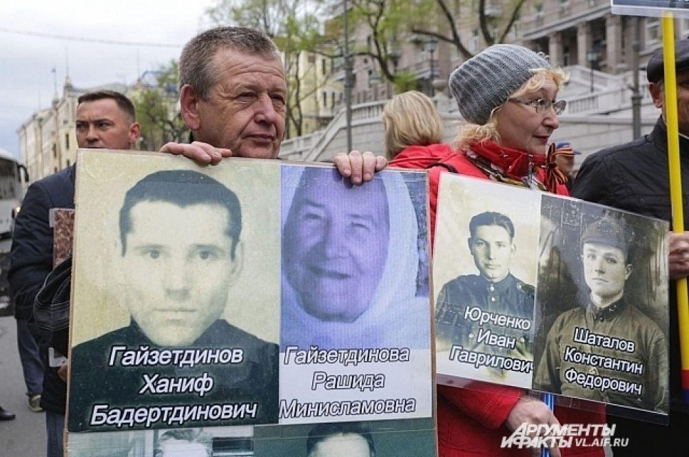 Почитали память предков, не только не пришедших с войны.