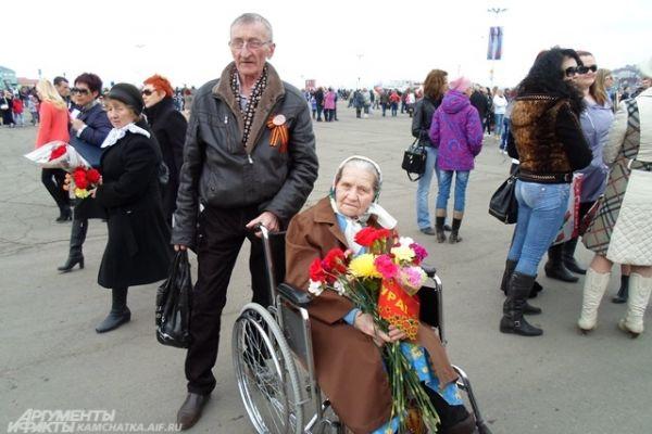 Ветераны Петропавловска.