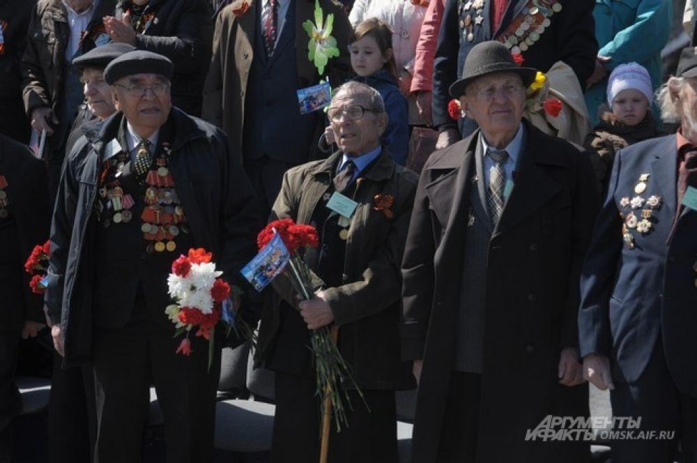 Парад Победы в Омске.