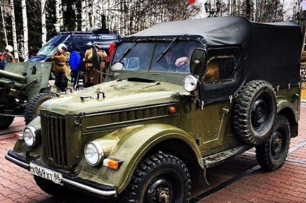 На показ всем зрителям были представлены: автомобиль ГАЗ-67, самолет-разведчик Ш-2, грузовой автомобиль ГАЗ-М, пушка ЗИС-3, пулеметы, минометы, стрелковое оружие времен Великой Отечественной войны.