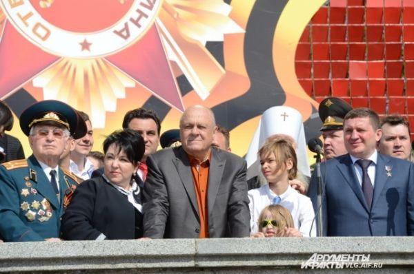 В День Победы в Волгоград приехал Владимир Меньшов.