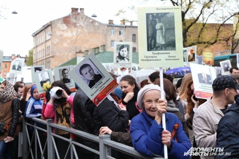 Петербуржцы живо откликнулись на предложение почтить память своих погибших родственников - ветеранов и тружеников тыла.