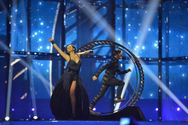 Финал конкурса открывала украинская певица Мария Яремчук.