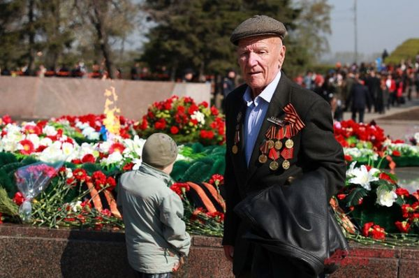 Во всех мероприятиях 9 Мая участвовали ветераны.