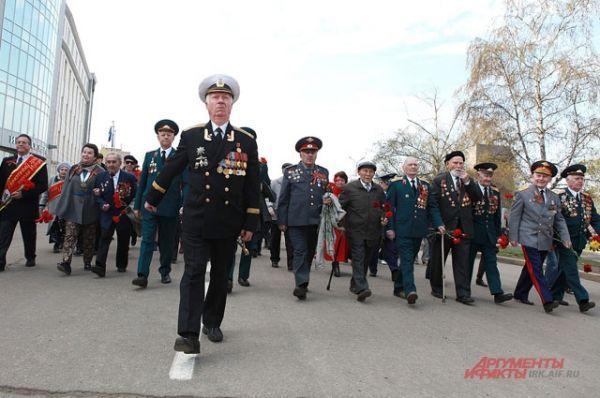 Шествие,  посвященные празднованию 69-ой годовщины Победы в Великой Отечественной войне 1941–1945 гг.