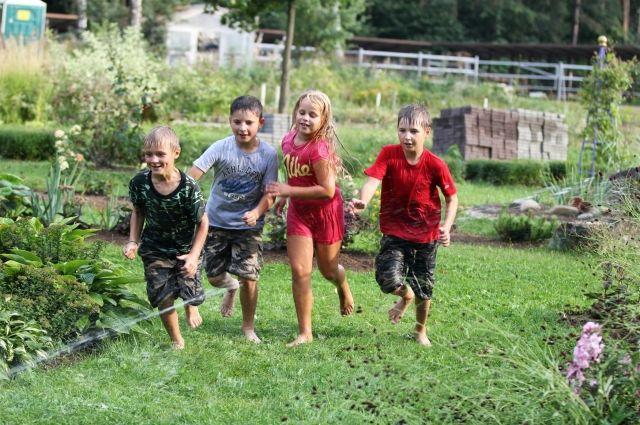 Летом школьникам будет полезно выехать на оздоровление в загородный лагерь.