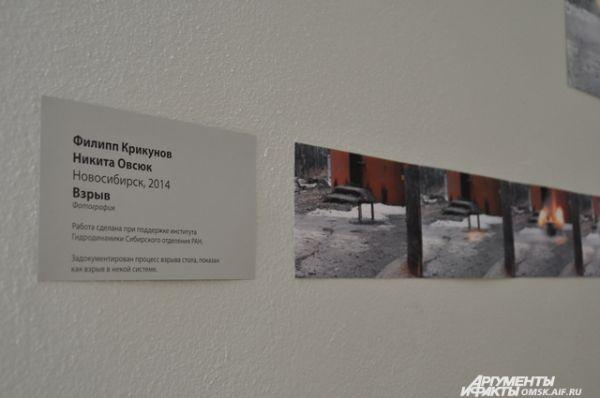 Омичам представлены лучшие работы проекта «Яблоко Мёбиуса».
