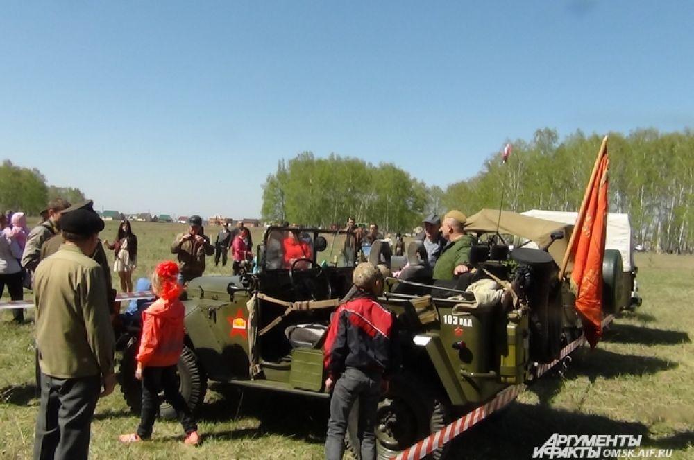 Выставка ретроавтомобилей прошла в Азово.