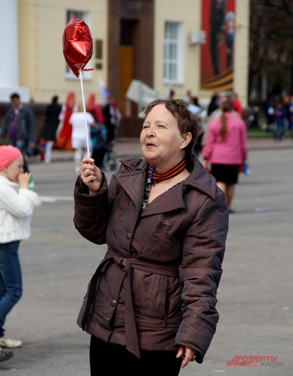 На площади Ленина.