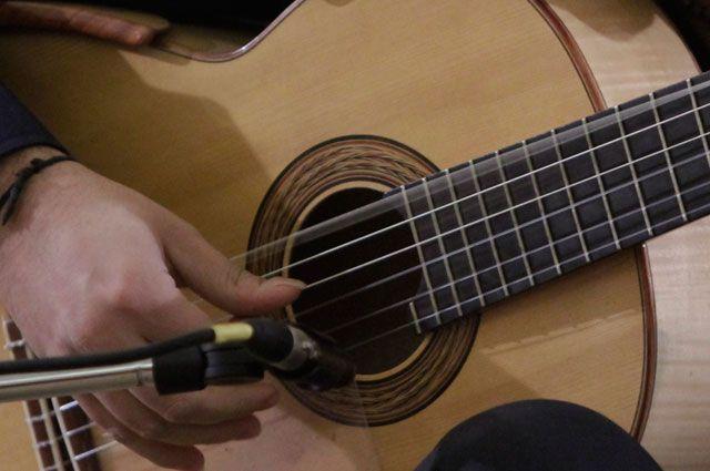 Омичи смогут насладиться звуками гитары.