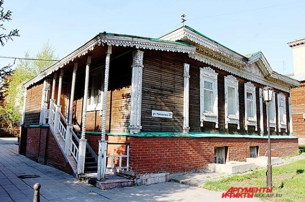 Памятник деревянного зодчества по улице Чаплыгина (Асинкритовская), дом 27.