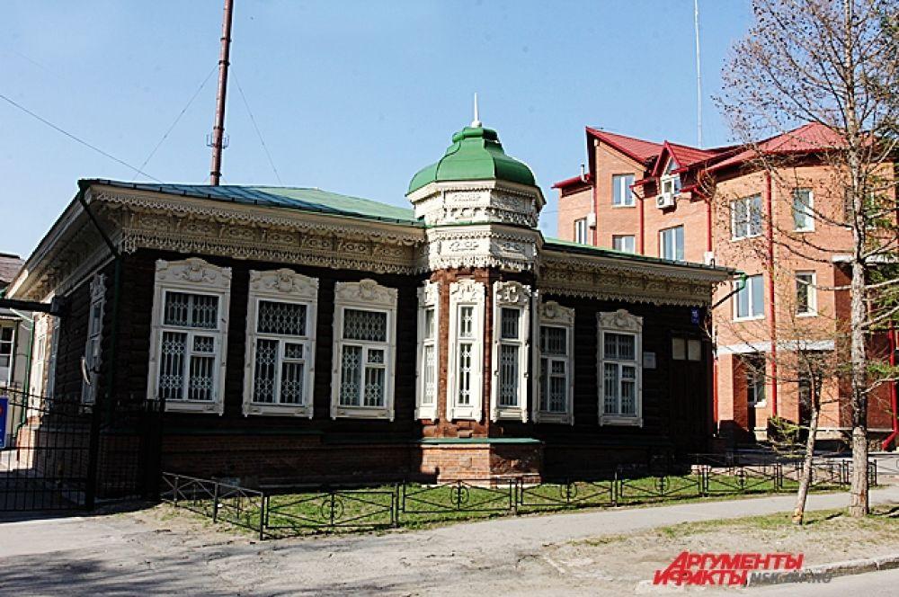 Памятник деревянного зодчества по улице Октябрьская (Болдыревская), дом 15