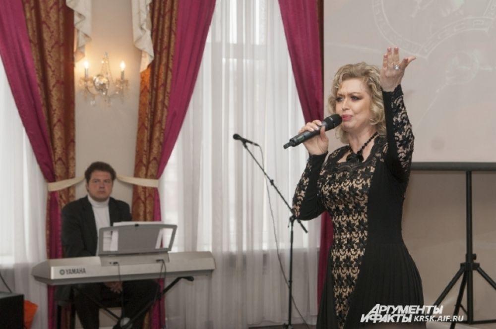 Валентина Литвина, прима Красноярского музыкального театра, заслуженная артистка России.