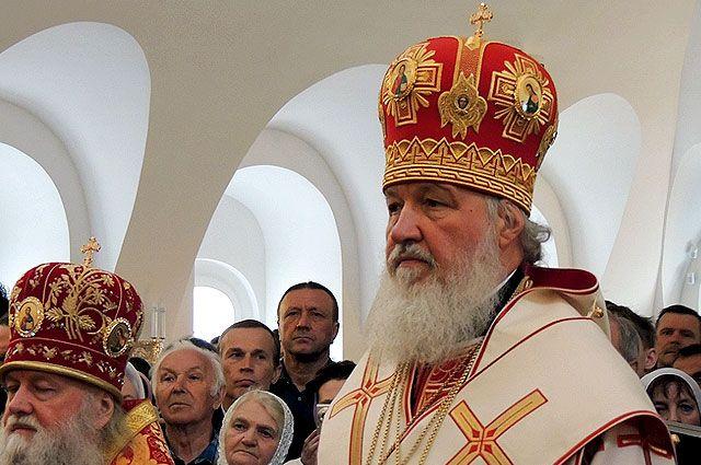 Патриарх Кирилл провёл службу в Троице-Сергиевом Варницком монастыре.