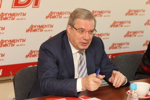 Президент назначил Виктора Толоконского и.о. главы Красноярского края