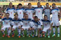 Игроки сборной России по футболу.