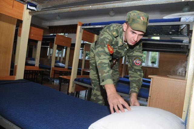 Омские призывники готовы служить в Президентском полку.