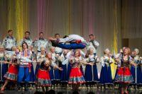 Выступление омского хора.