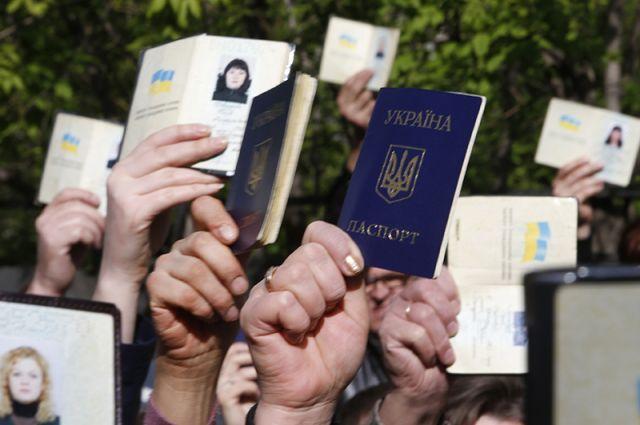 Донецк, 11 мая. Народное голосование, равного которому тут ещё никогда не было.