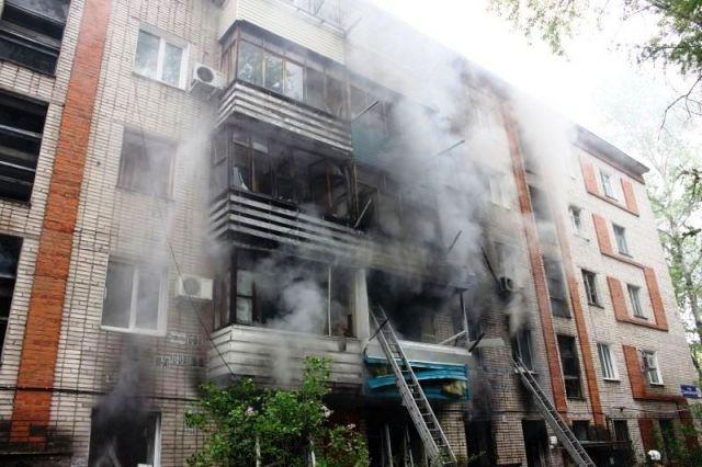 Пожар в доме на Даниловского