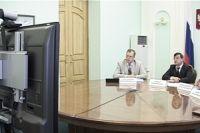 Видеоконференция по вопросам организации съезда инженеров.
