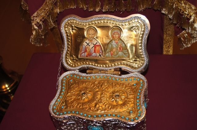 В женскую колонию Нижнего Тагила доставили мощи святой Анастасии