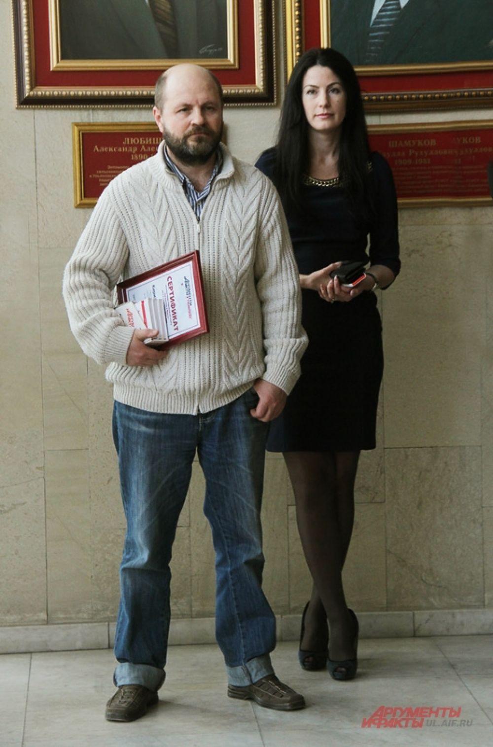 Редактор сайта ul.aif.ru Алексей Юхтанов готов вручить спецприз от «АиФ в Ульяновске».