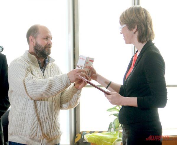 Спецаприз от «АиФ» - полугодовую подписку на газету – получила Мария Кириллова.