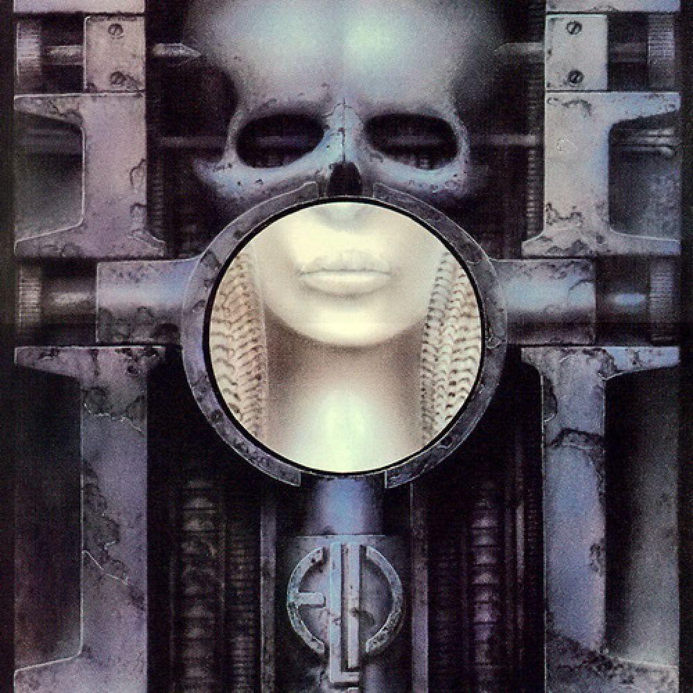 Гигер активно сотрудничал с различными музыкантами и рисовал обложки для их альбомов. Одной из первых и наиболее известных таких работ Гигера стала обложка к альбому прогрессив-рок группы Emerson, Lake & Palmer «Brain Salad Surgery». Позже эта обложка была причислена специалистами к одним из наиболее ярких в истории музыки.
