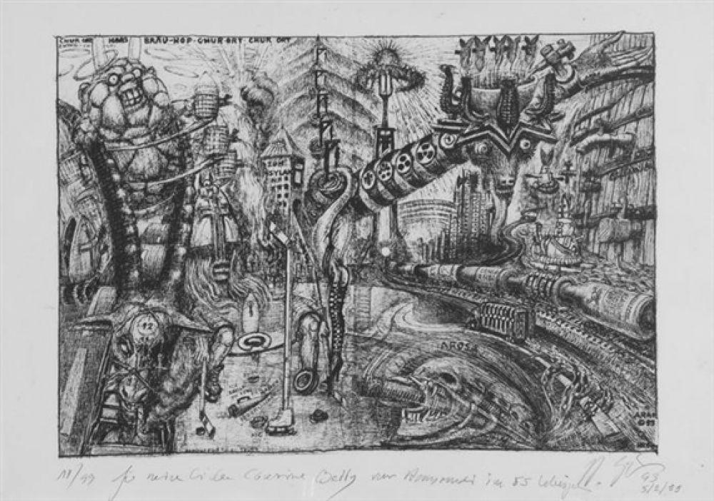 В 1998 году в Грюйере, Швейцария был открыт музей Гигера, в котором хранятся его работы. Художник сам составлял экспозицию музея, где также устраивал выставки других художников в стиле фантастического реализма. Вплоть до последних дней Гигер жил и работал в Цюрихе.