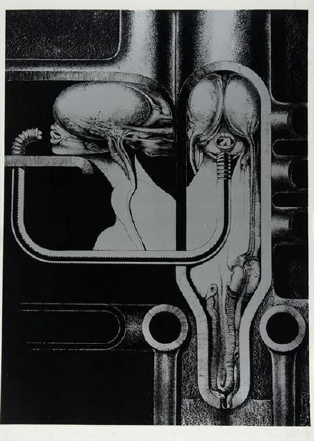 Ганс Рудольф Гигер родился в Швейцарии в семье аптекаря. Однажды отец подарил сыну череп, чтобы увлечь того биологией и анатомией, но в итоге это привело мальчика в живопись. Гигера интересовали механизмы взаимодействия биологической плоти и искусственных материалов, вместе с этим большое впечатление на него произвели рассказы Говарда Лавкрафта.