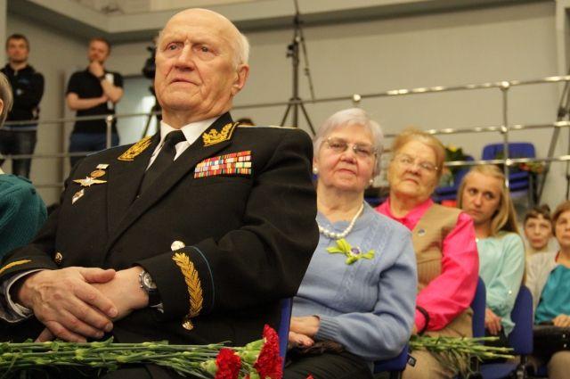 Традиционный концерт для ветеранов.