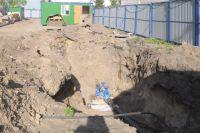 Ремонт сетей водоснабжения завершился раньше на ул. Валиханова.