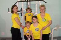 Елена Богородская со своими детьми участвет во всех конкурсах и соревнованиях.