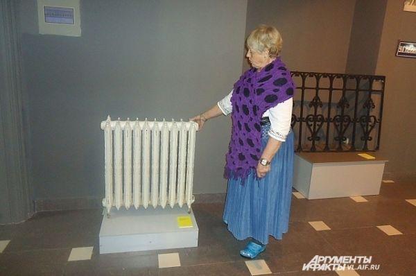 Батарея парового отопления. Сохранилась с 30-х годов ХХ века.