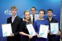 Будещие нефтепереработчики получили именные стипендии от предприятия.