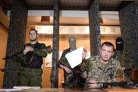 Сергей Здрилюк во время обращения к командованию вооруженных сил Украины.