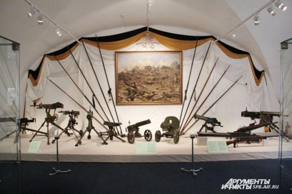 Экспозиция приурочена к 100-летию начала Первой мировой войны.