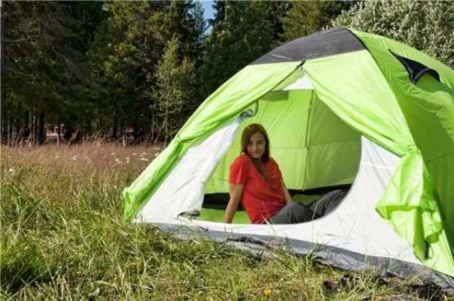 Омские школьники будут жить в палатках.