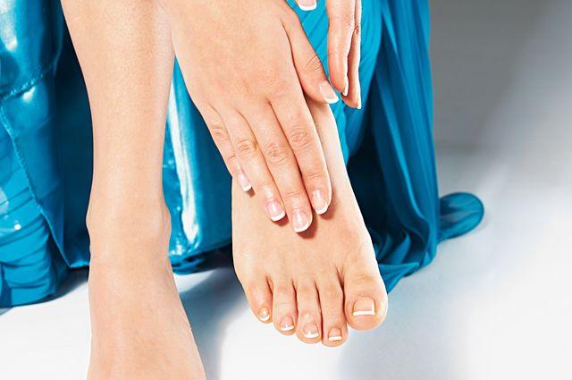 Реклама крема от грибка ног