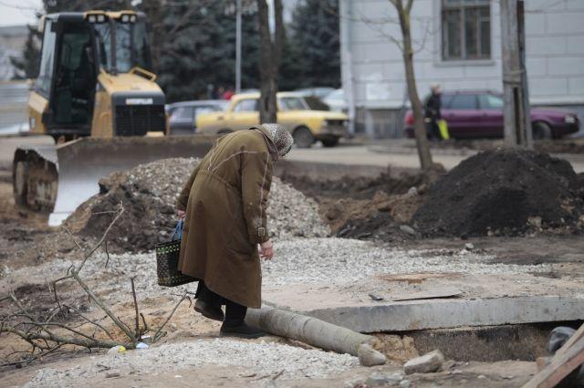 В центре Пскова теперь не пройти, не проехать