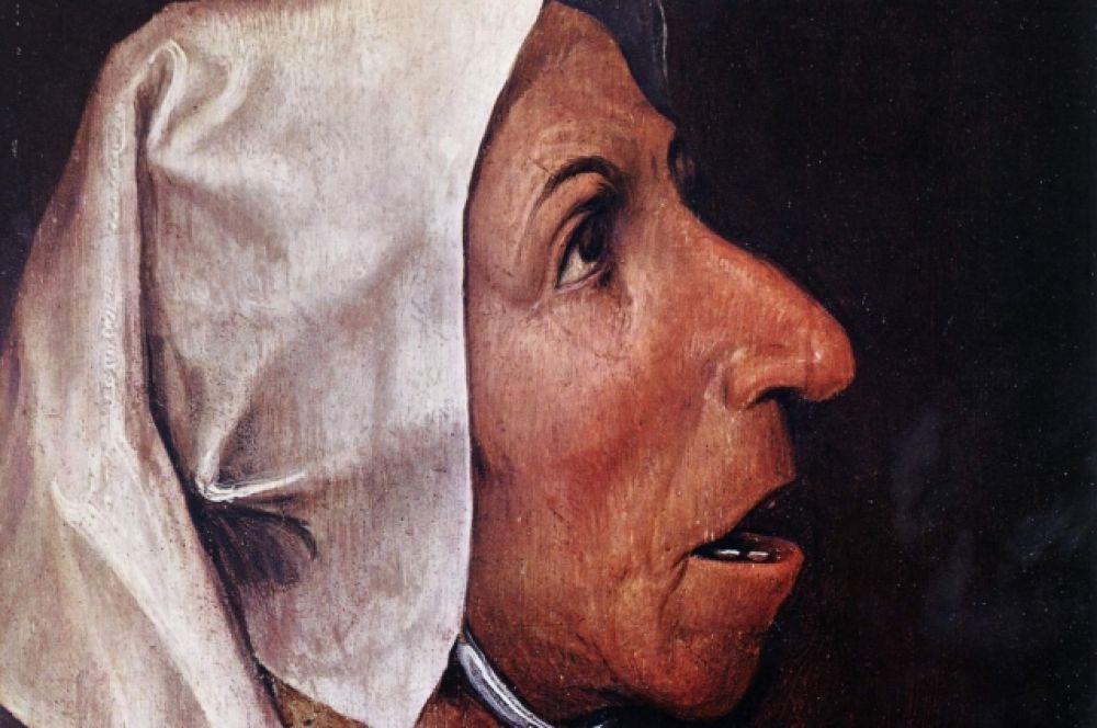 Художник никогда не писал заказных портретов и обнаженной натуры. Один из немногих портретов, приписываемых кисти Брейгеля – картина «Голова крестьянки». Художник в своих полотнах не приукрашал природу человека, он показывал человека как продукт природы, откуда люди черпают жизненную энергию.