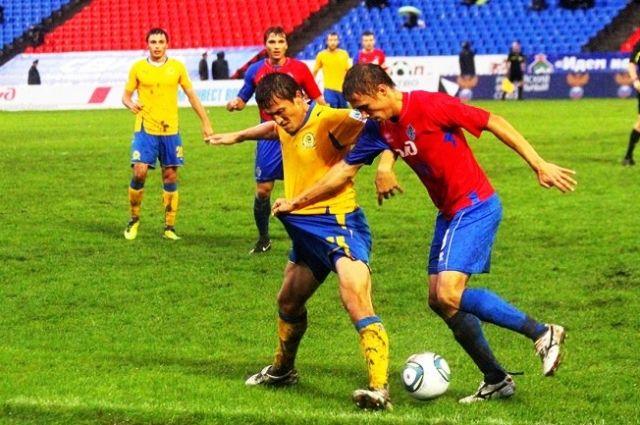 Момент матча команд «СКА-Энергия» и «Луч-Энергия»