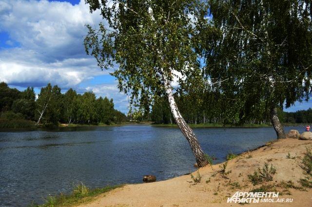 Озеро Ключевое, Красный бор.