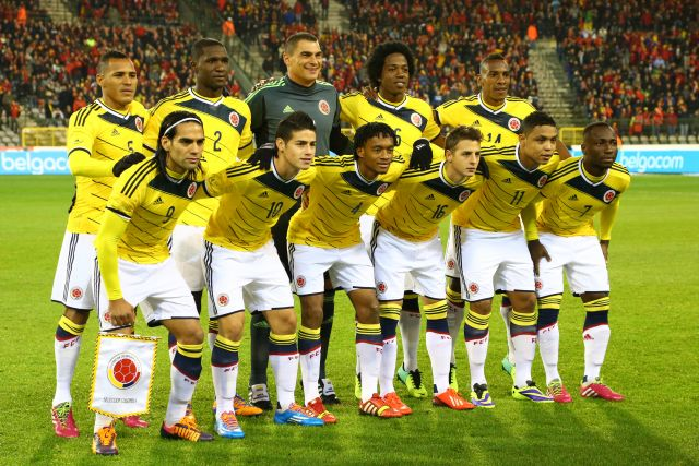 Сборная Колумбии по футболу.
