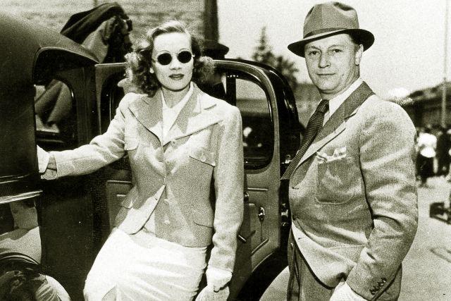 Марлен Дитрих и Рудольф Зибер. 1937 год.