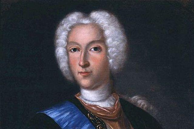 Портрет Петра II, 1730 - е гг.
