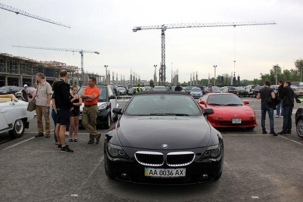 Фестиваль кабриолетов в Киеве